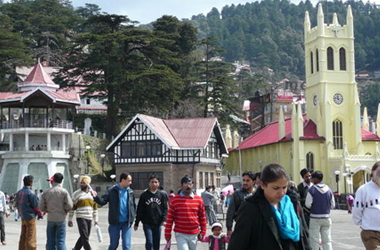shimla volvo package from delhi